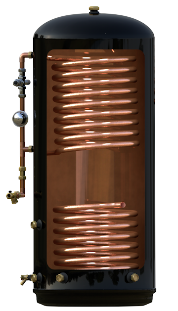 Maxipod copper industries hot water cylinders uk ireland for Copper hot water tank